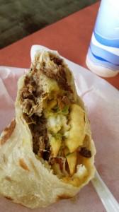 Carnitas Cali burrito 1